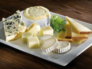 Restaurant Soissons La Bourse Aux Grains : assiette fromages