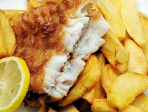Restaurant Soissons La Bourse Aux Grains : fish and chips