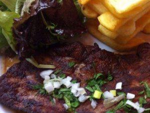 Restaurant Soissons La Bourse Aux Grains : foie de veau persillade