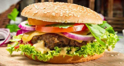 Restaurant Soissons La Bourse Aux Grains : cheese burger