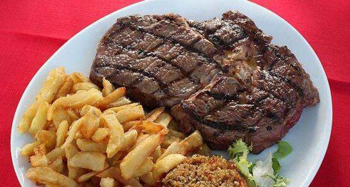 Restaurant Soissons La Bourse Aux Grains : entrecote xxl