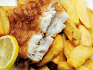 Restaurant Soissons La Bourse Aux Grains : fish and chips