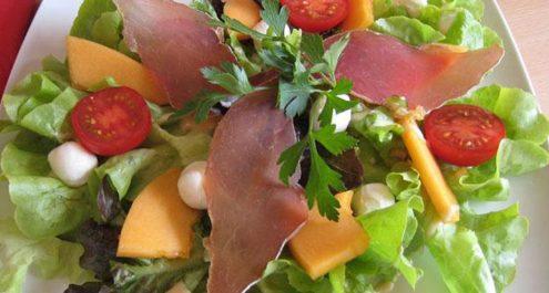 Restaurant Soissons La Bourse Aux Grains : salade fraicheur